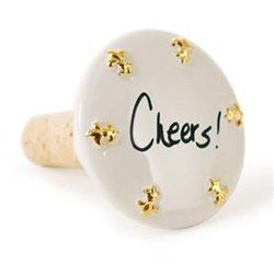 "PlaceTile Designs - Bottle Stopper - Gold by PlaceTile Designs. $20.99. PlaceTile/Bottle Stopper in One Makes for a great party favor ! Size: 2.5"" diameter"