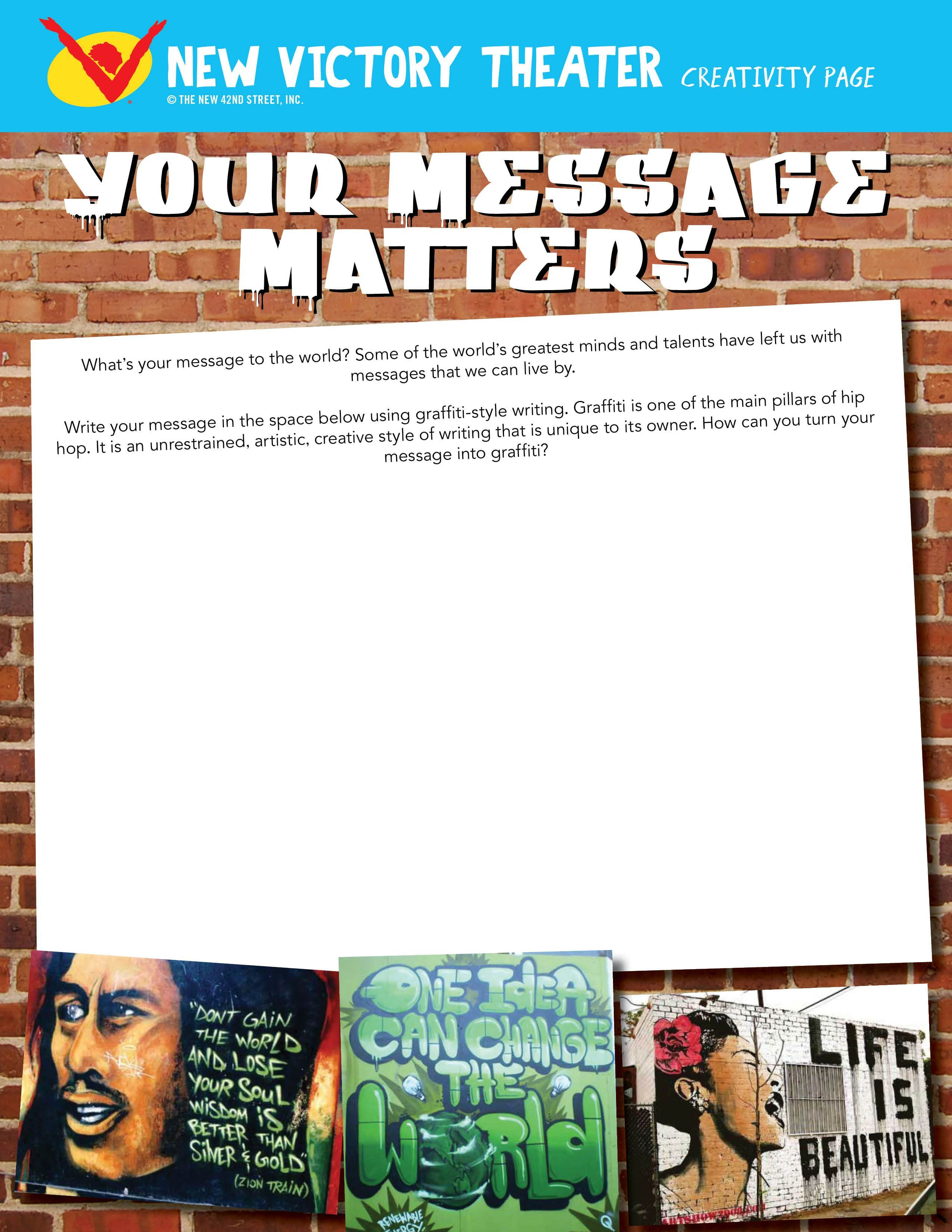 Your Message Matters