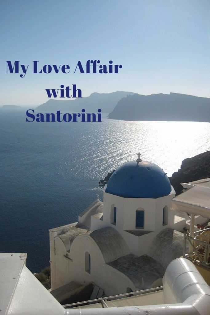 Santorini is a magical island in Greece where the water sparkles and the food is exquisite!  Check out my story.  #santorini #greece #greekislands #vacation #travel #traveling