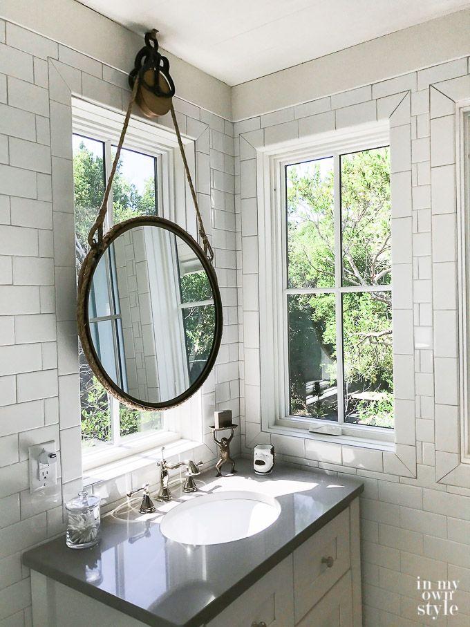 My Trip To The Southern Living Idea House Southern Living Homes Bathroom Decor Farmhouse Bathroom Mirrors