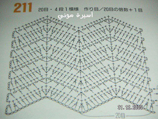 UNA TARDE DE PUNTADAS: FELIZ AÑO NUEVO 2012. | Crochet Stitches ...