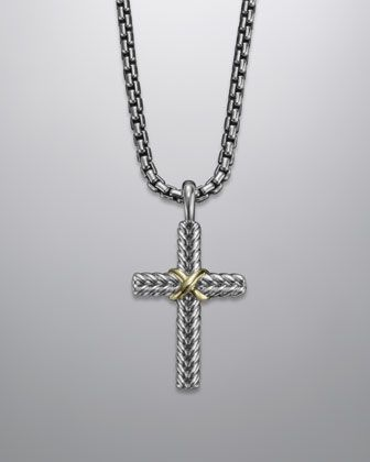 ab747cefb438 David Yurman Cable Classics Cross  Gotta Love the Lord and be fashionable