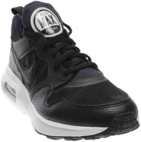 pretty nice 762c7 40283 Nike Men s Air Max Prime Black Black White Running Shoe 10.5 Men US