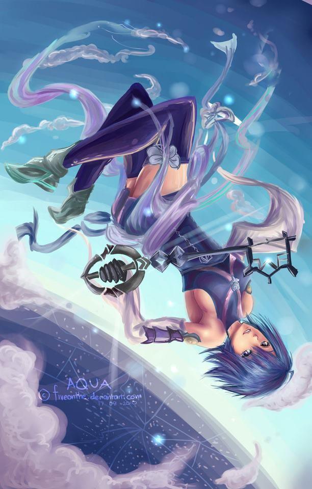 Kingdom Hearts Aqua Kingdom Hearts Kingdom Hearts Characters Kingdom Hearts Art