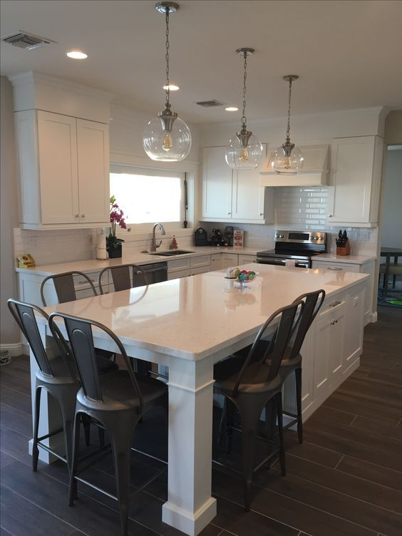 White Shaker Waypoint Cabinets Designed by: Nathan Hoffman Wonder if ...