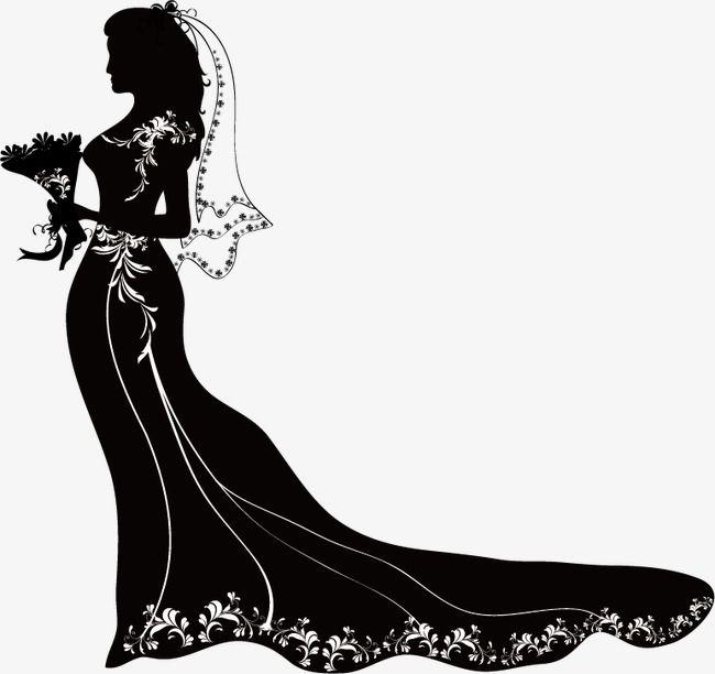 la mari e silhouette les silhouettes robe de mari e. Black Bedroom Furniture Sets. Home Design Ideas