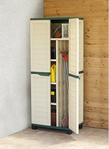 6ft Waterproof Lockable Garden Storage Cabinet Shed