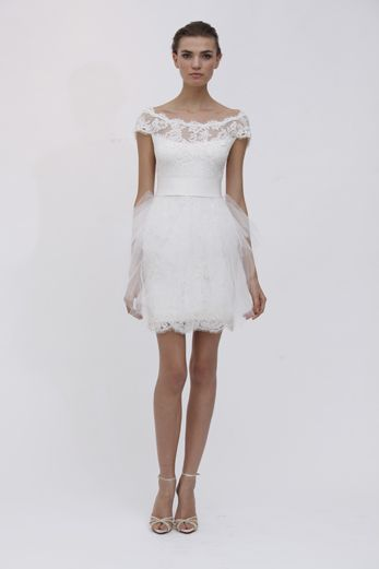 Marchesa Alana Short Wedding Dress I Kinda Like It