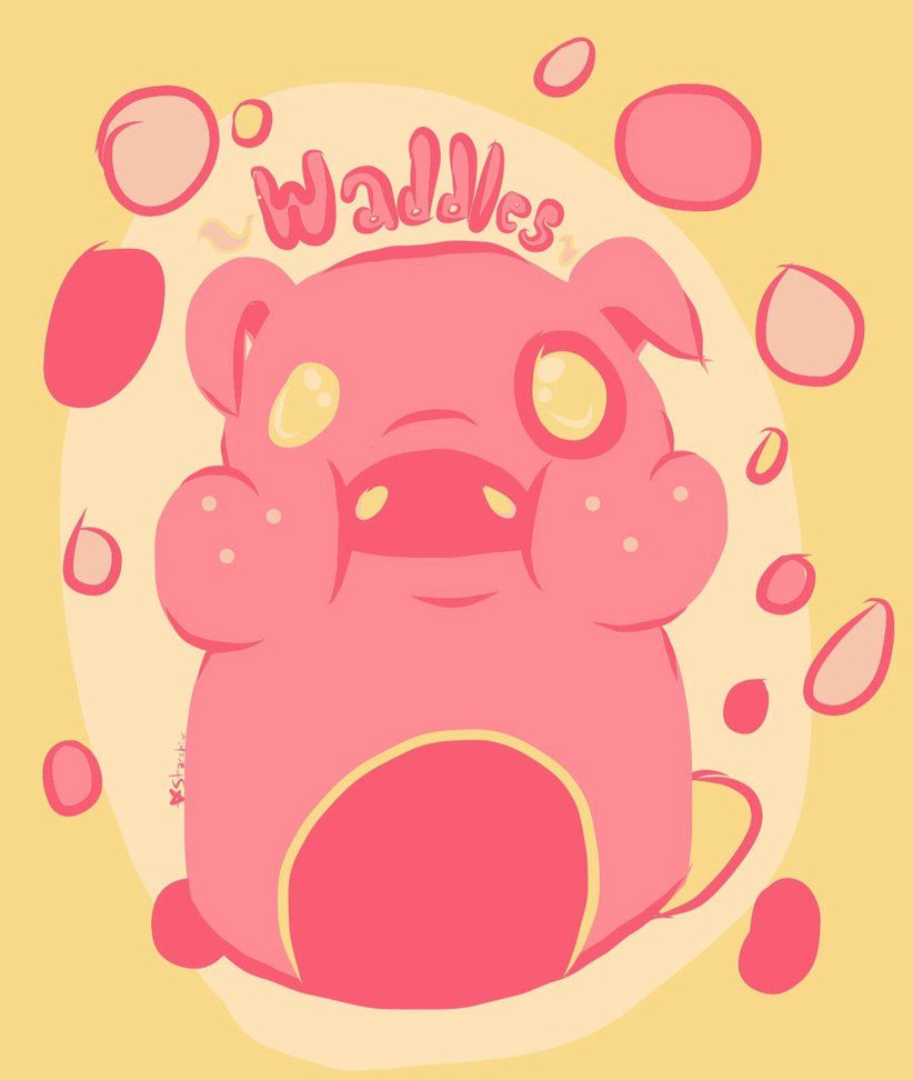 So Fat He Waddles