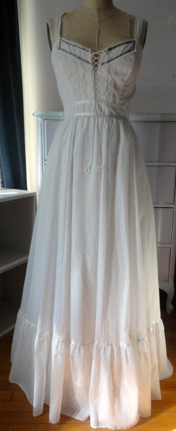 Vintage boho wedding dress beach wedding s hippie boho maxi
