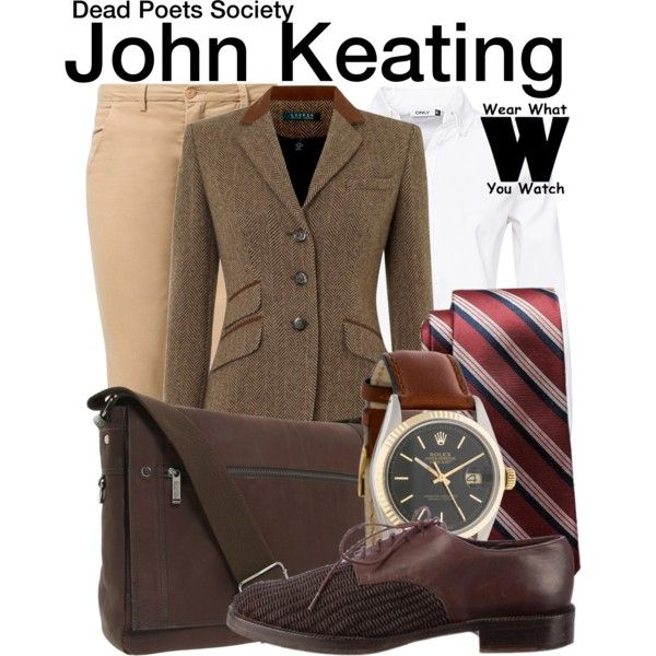 Inspired by the late, great Robin Williams as John Keating in 1989's Dead Poets Society.