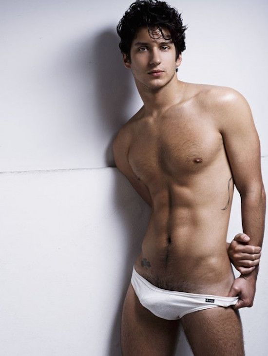 Young male naked models pov