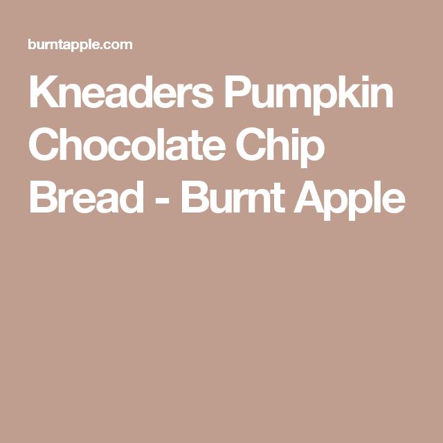 Kneaders Pumpkin Bread Recipe