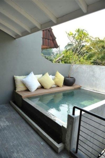 Piscina per terrazzo | piscine | Pinterest | Verandas, Swimming ...