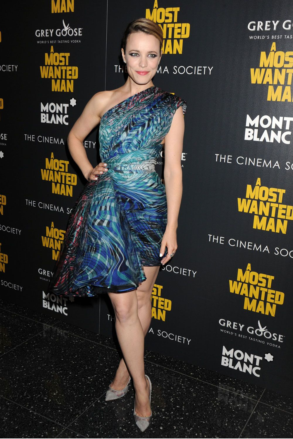 Rachel mcadams attends the premiere of uca most wanted manud held at