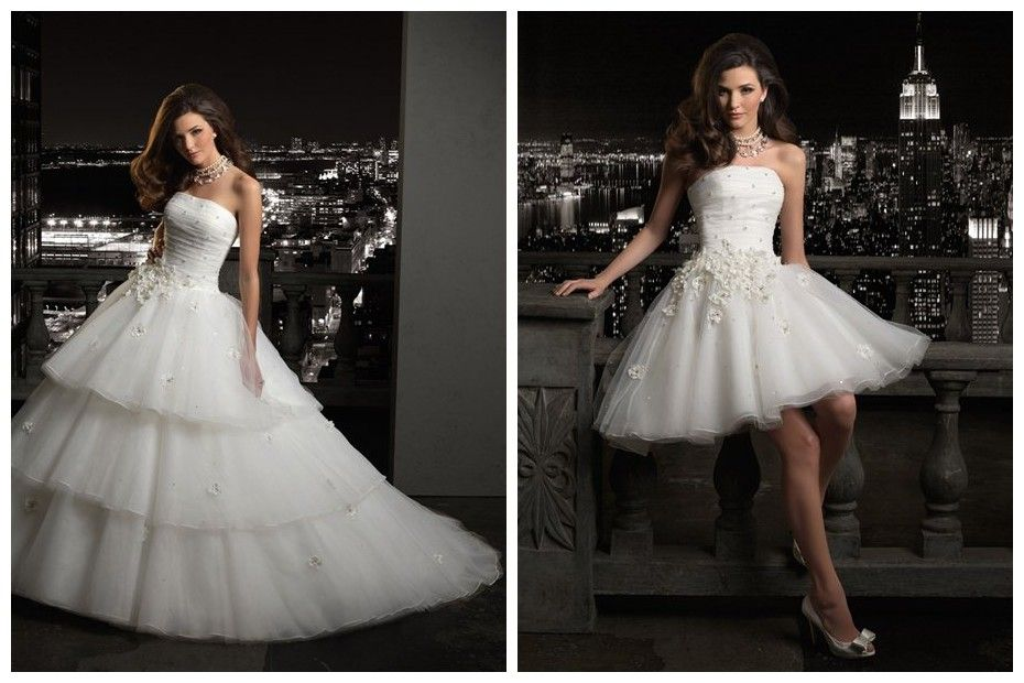 Convertible ball gown wedding dress would be nice for the party convertible ball gown wedding dress would be nice for the party after the ceremony without junglespirit Image collections