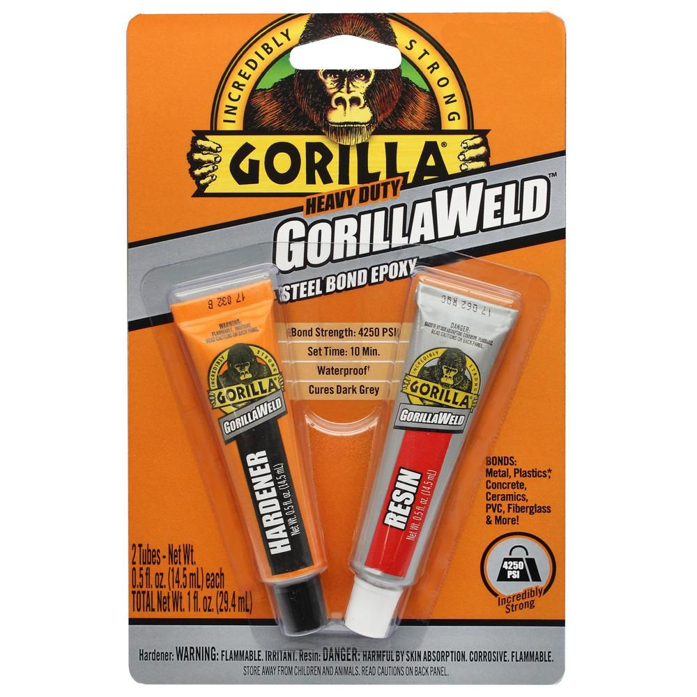 Gorilla 1 Fl Oz Gorillaweld 6 Pack 4330101 Epoxy Epoxy Putty Plastic Epoxy