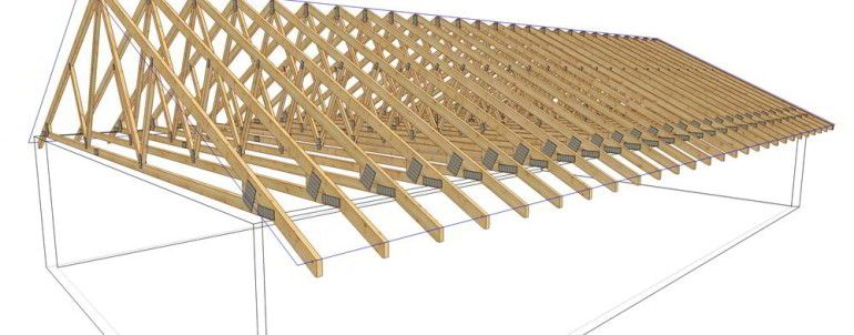 Tips on how to build roof trusses tips on how to build for Prefab gambrel roof trusses