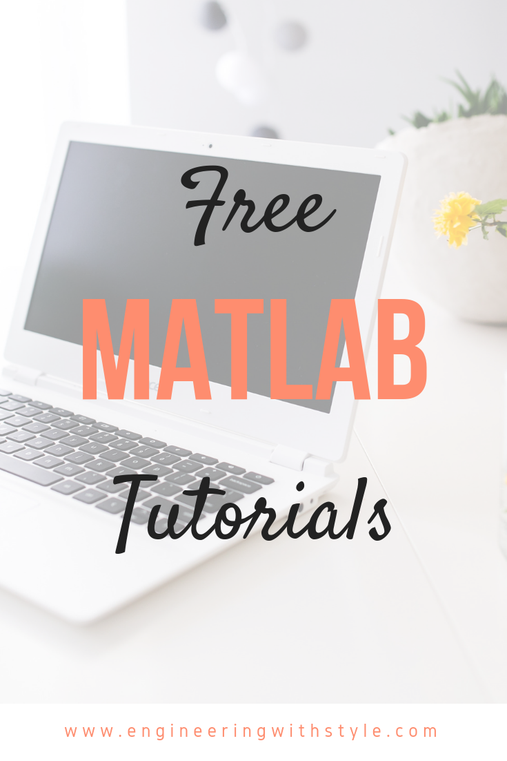 Check out my free MATLAB tutorials made for STEM students  Includes