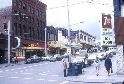 Seattle Municipal Archives Photograph Collection Seattle History Downtown Seattle Seattle Street