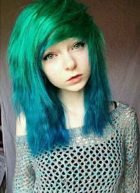 Lefabulouskilljoy On Instagram Emo Hair Emo Hair Emo Scene Hair Long Hair Styles