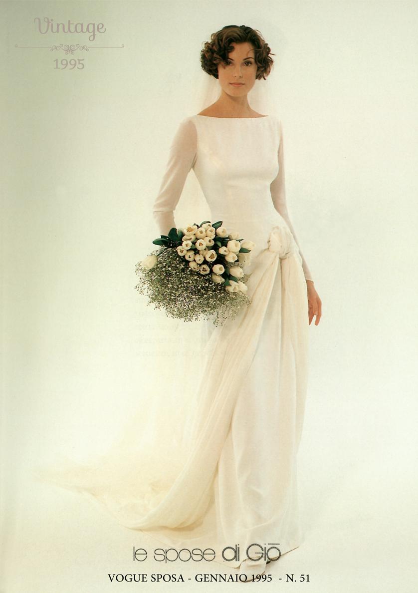 Vogue Sposa Gennaio 1995 Abiti Da Sposa Sposa Stile Sposo