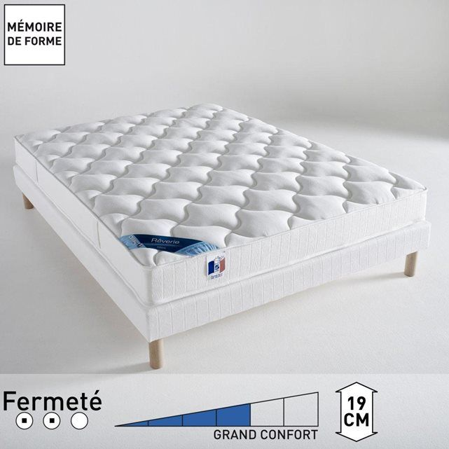 matelas latex confort quilibr m moire de forme shopping chambre pinterest. Black Bedroom Furniture Sets. Home Design Ideas