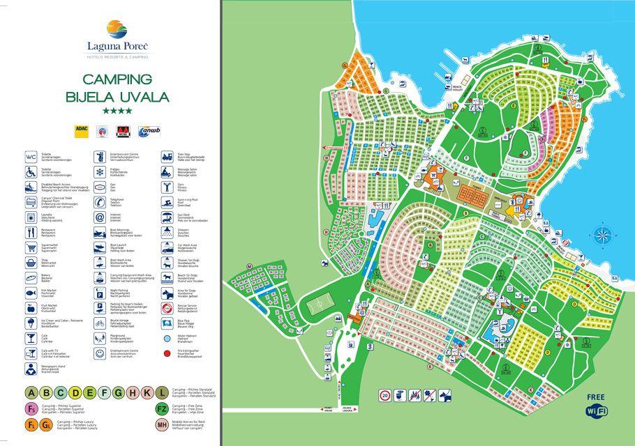 Campingplatz Bijela Uvala Campingverband Kroatien Met