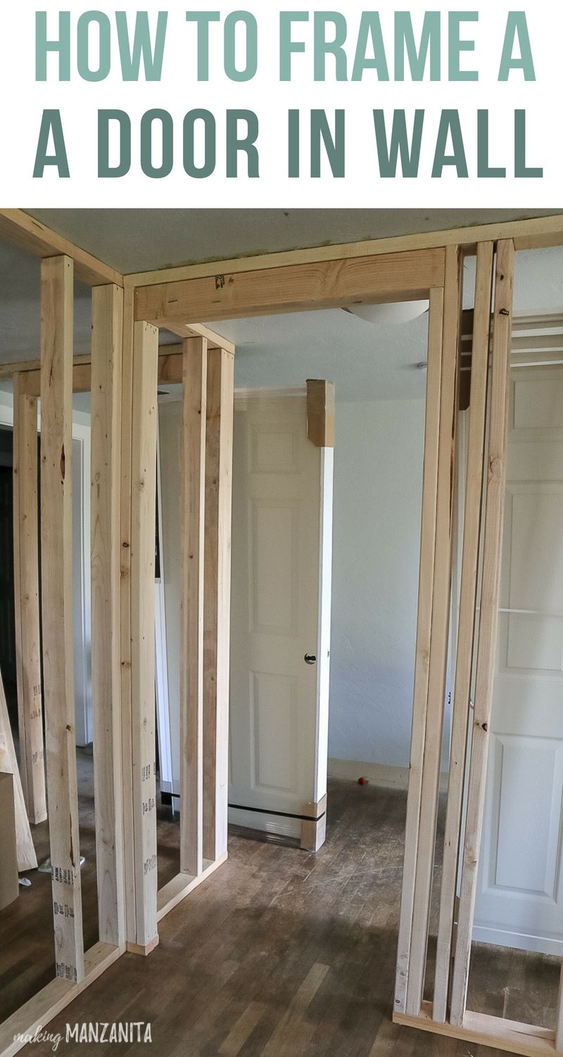 How To Build A Wall Part 2 Framing