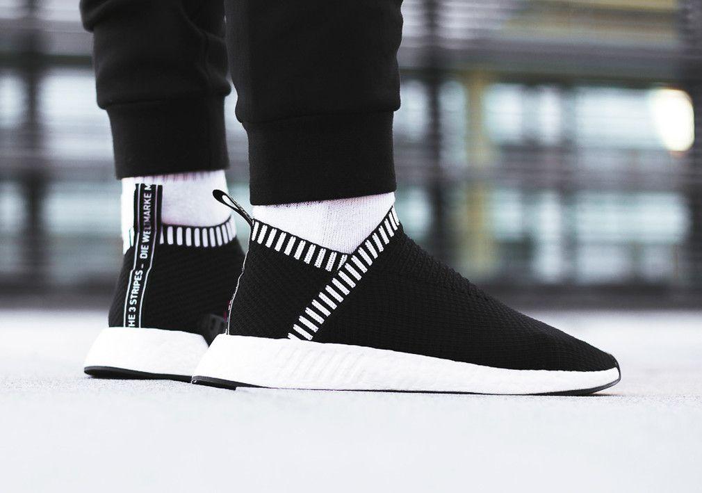 adidas nmd città sock 2 core black scarpe pinterest adidas