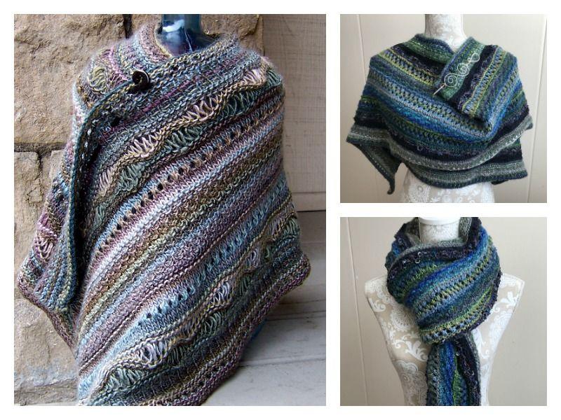 Stitch Sampler Shawl Free Knitting Pattern | Knitting ...