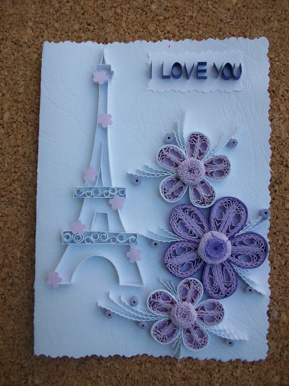 Valentines Greeting Card Handmade Card Greeting Card Love