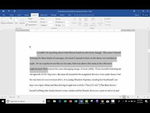 Advanced Microsoft Word  Formatting Your Document Learn How You