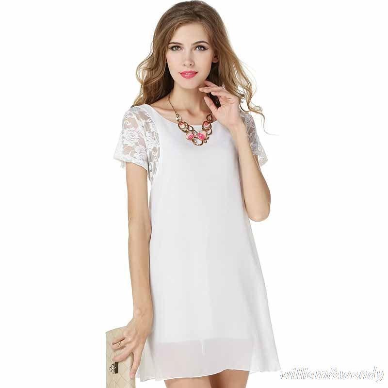 Short white lace dress ukraine
