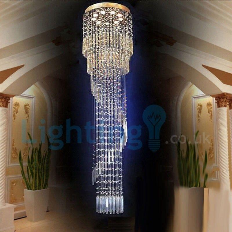 Photo of Modern Contemporary Chandelier Flush mount LED Pendant Fixtu…