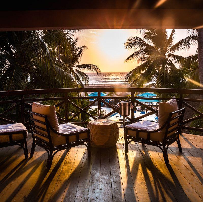 Atardecer Hotel Cartagena.
