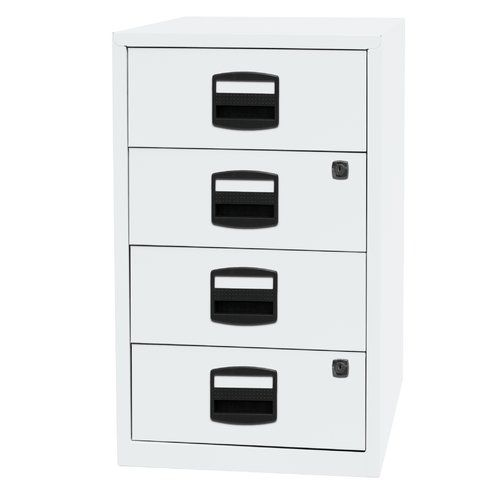 Pfa 4 Drawer Filing Cabinet Bisley Colour White Drawer Filing
