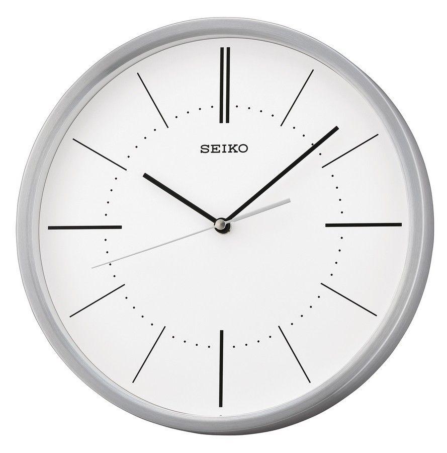Seiko Quartz Wandklok.Seiko Wandklok Aluminium 30 Cm Qxa714s Wall Clocks In 2019