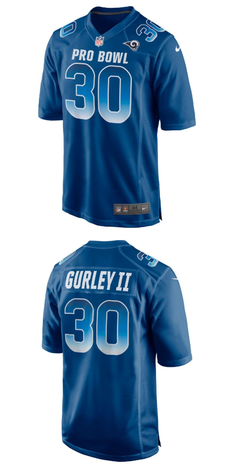 6bf7e069 UP TO 70% OFF. Todd Gurley II NFC Nike 2018 Pro Bowl Game Jersey ...