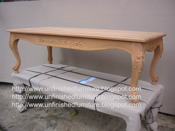 Unfinished Mahogany Furniture French Coffee Table Made Of Fine Solid Kiln Dry Mahogany Wood Pre Italian Style Furniture French Style Furniture Raw Furniture
