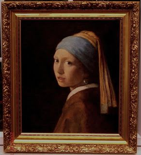 'Girl with a Pearl Earring' by Jan Vermeer (The High Museum, Temporary Exhibition, Atlanta, GA)