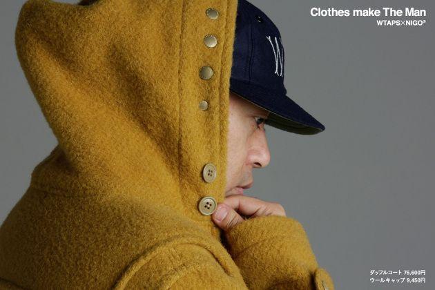"WTAPS x NIGO – ""Clothes Make The Man"" Lookbook"
