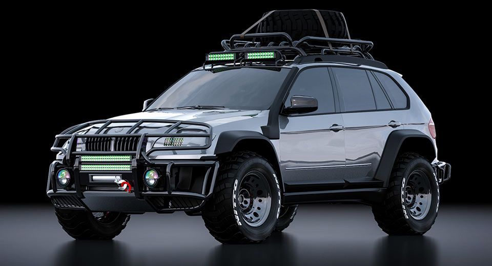 Bmw X5 Looks Ready To Tackle Some Steep Virtual Slopes Carscoops Bmw X5 Bmw Suv Bmw