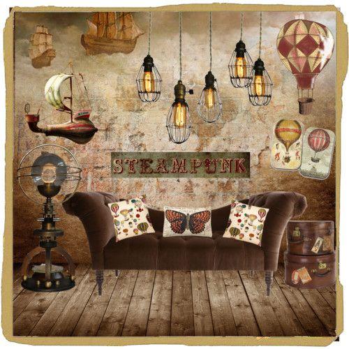 Steampunk decor google search i imagine tessa thomas living here time travel pinterest - Steampunk bedroom ideas ...