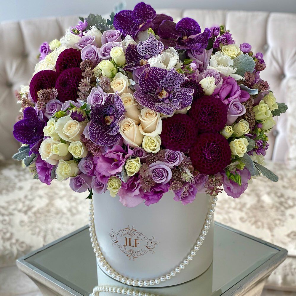 New Arrival This Elegant Mix That Features Lush Vanda Orchids And Dahlias Will Satisfy Any Moo In 2020 Same Day Flower Delivery Beautiful Rose Flowers Flower Delivery