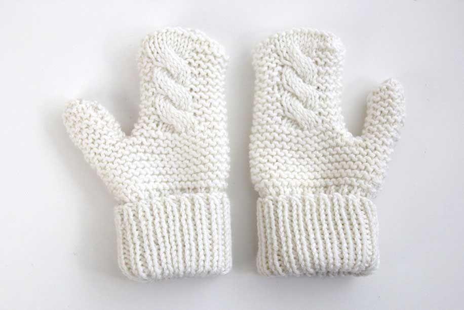 DIY Cómo hacer guantes para niños (patrones gratis)     Oh, Mother ...