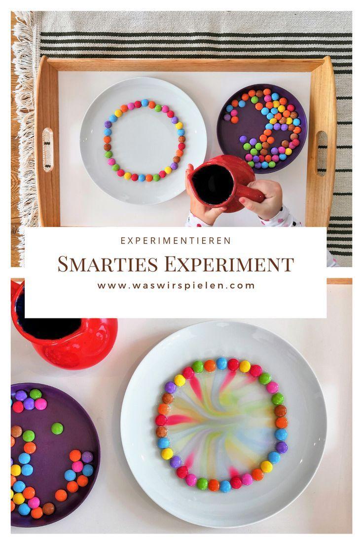 Regenbogen Smarties – Experiment