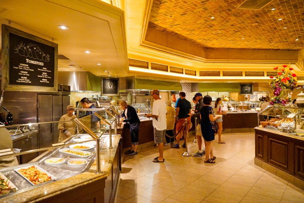 Fabulous Photo Of The Buffet At Bellagio Las Vegas Nv United Home Interior And Landscaping Ologienasavecom