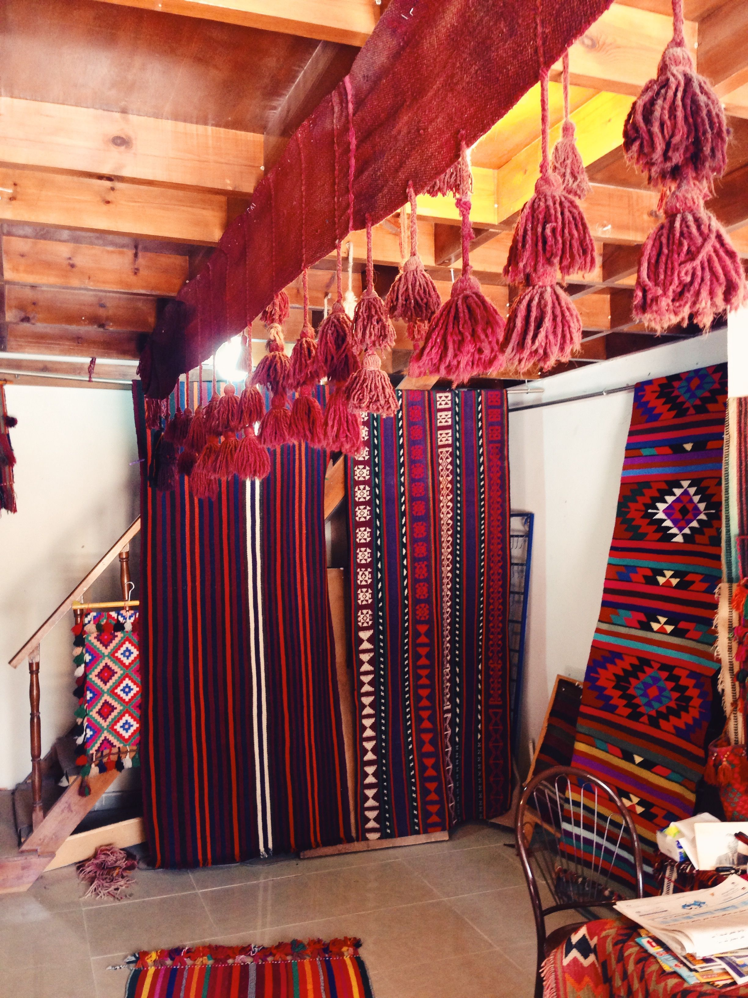 Rug shop in Madaba, Jordan | texture | Pinterest