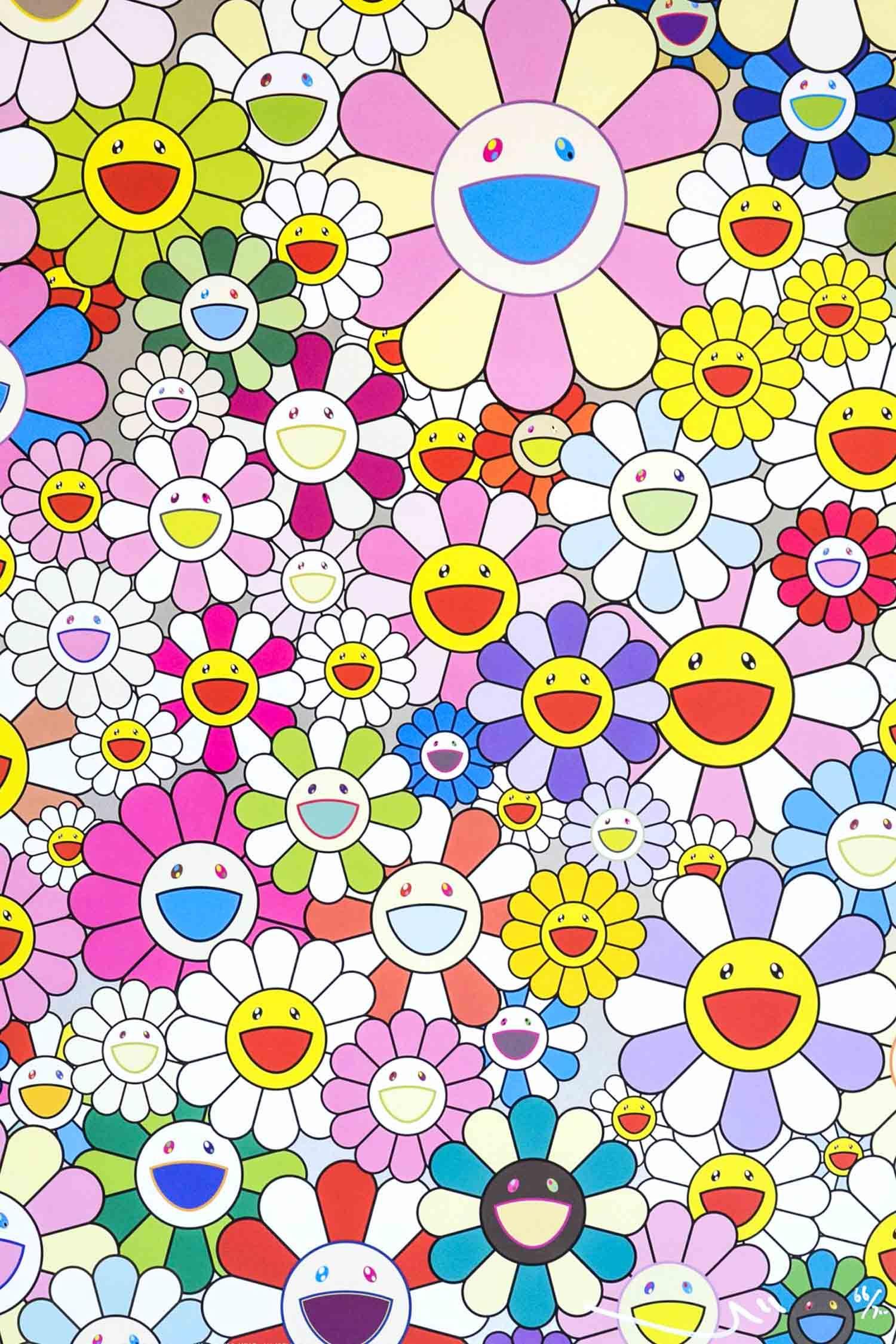 Takashi Murakami Flower Smile SOLD The Whisper Gallery